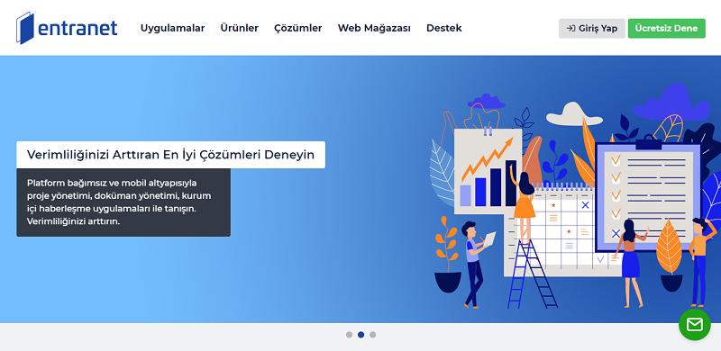 Entranet.com Web Sitesi Yenilendi