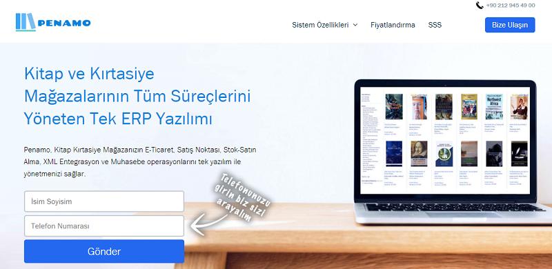 Penamo Ürünümüzün Web Sitesi Yayında